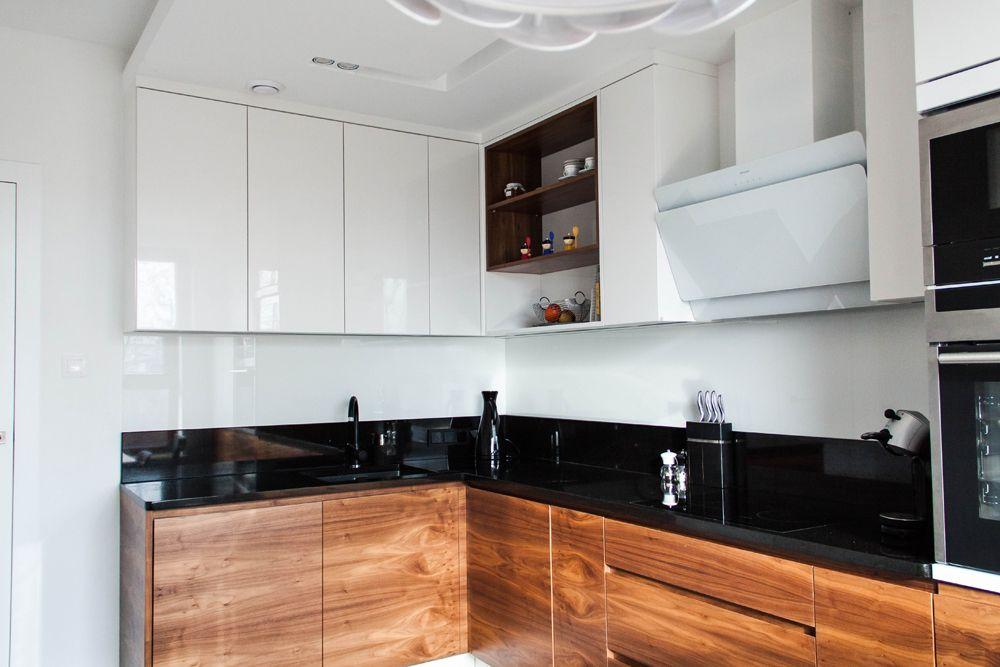 Czarny Blat W Kuchni Galeria Q Housepl
