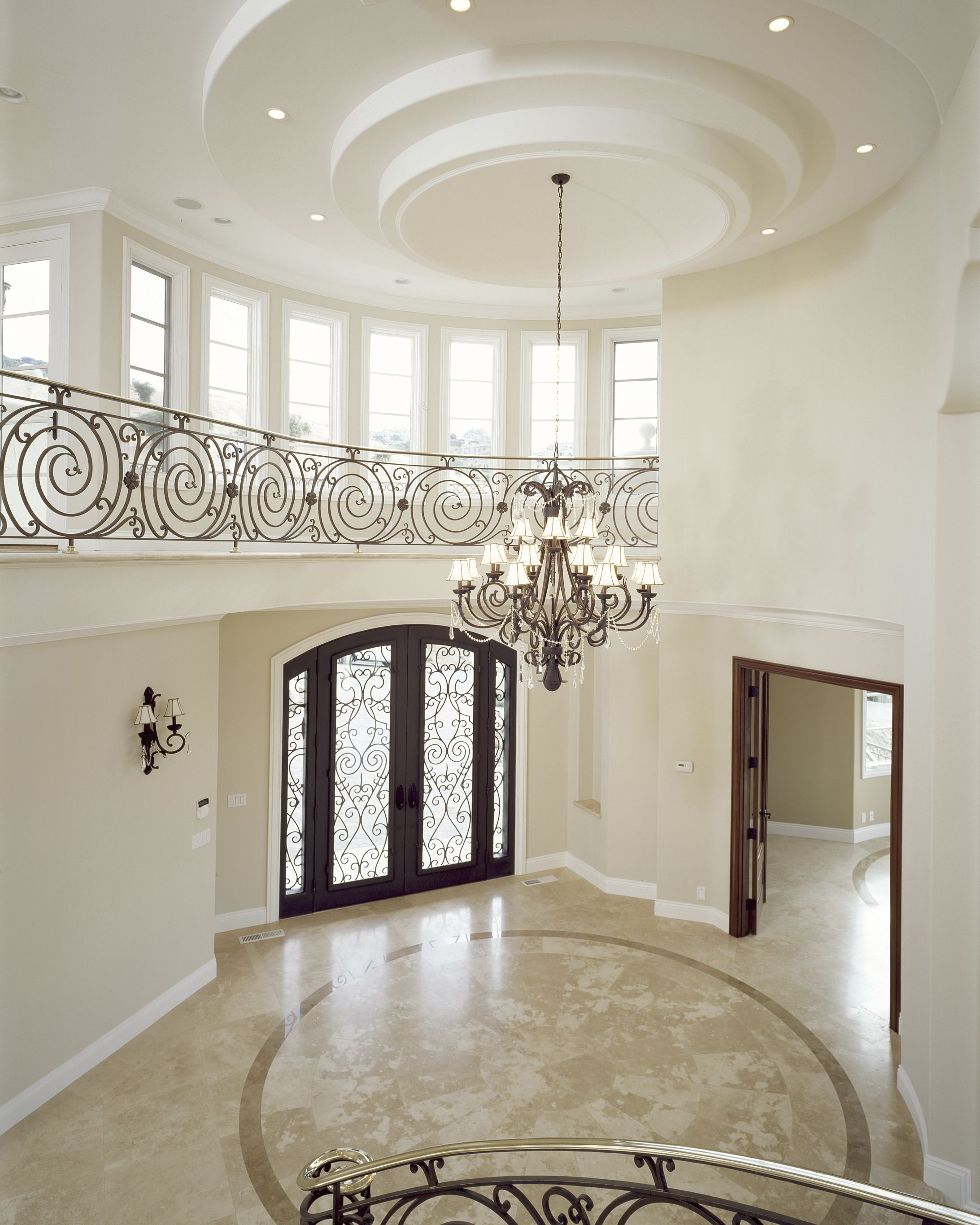 Lovely Contemporary Victorian Hallway: Home Foyer Designs #KBHomes