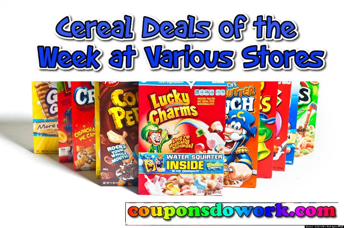 Cereal Deals of the Week at Various Stores : Week 1/4 - https://couponsdowork.com/coupon-deals/cereal-deals-of-the-week-at-various-stores-week-14/
