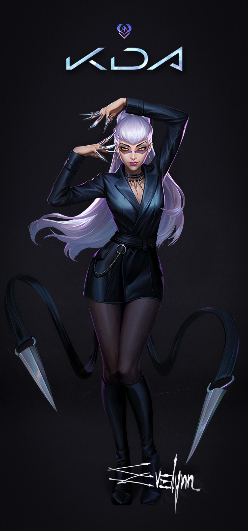 K Da The Baddest Evelynn Wallpaper Evelynnmains In 2020 Lol League Of Legends League Of Legends League Of Legends Characters