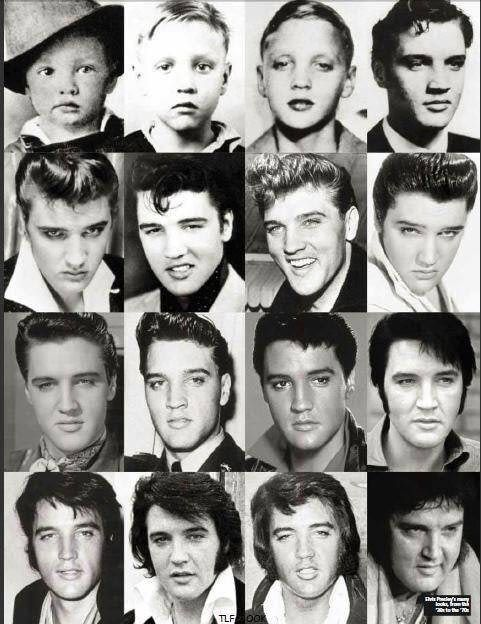 Stages of Elvis