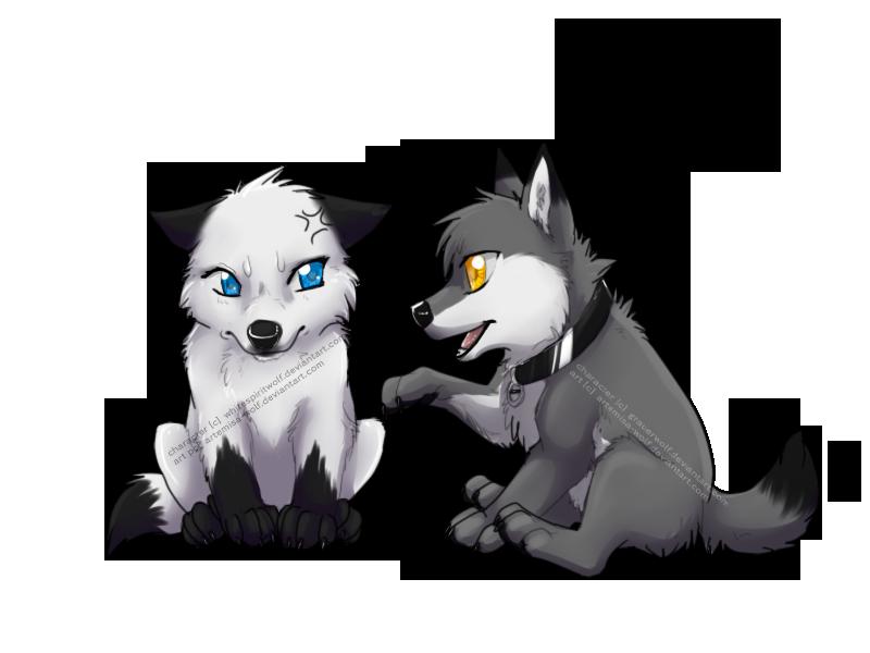 Chibi Com Poke By Artemisa Wolf Anime Puppy Cartoon Wolf Canine Art