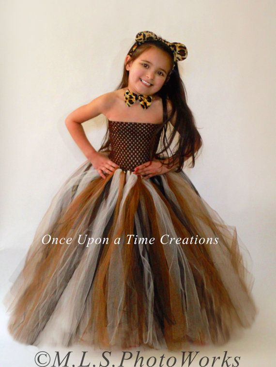 Long Black Brown Ivory Tutu Dress - Birthday Outfit Halloween ... bf33d0eb874c4