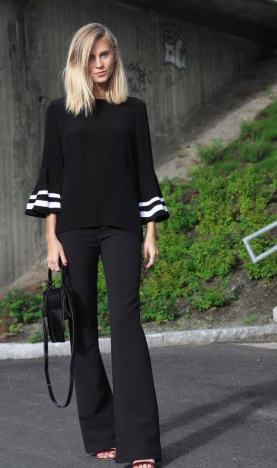 b596c1932 MODA - BLUSA MANGA FLARE | blusas manga campana | Fashion, Style e ...