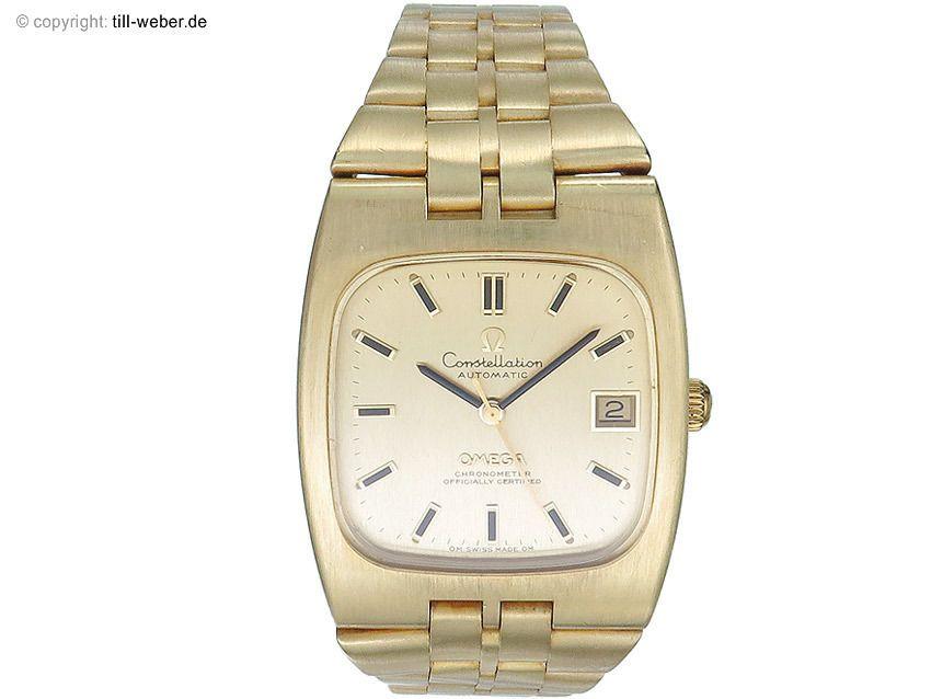 "6000 EURO--Omega ""Constellation"" Gold Goldband 1971 Vintage"