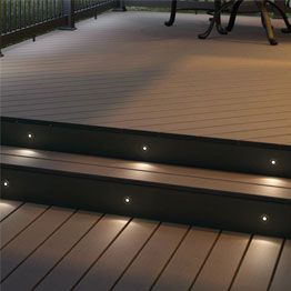 Decking Lights To Add Glow Your Evenings Lighting