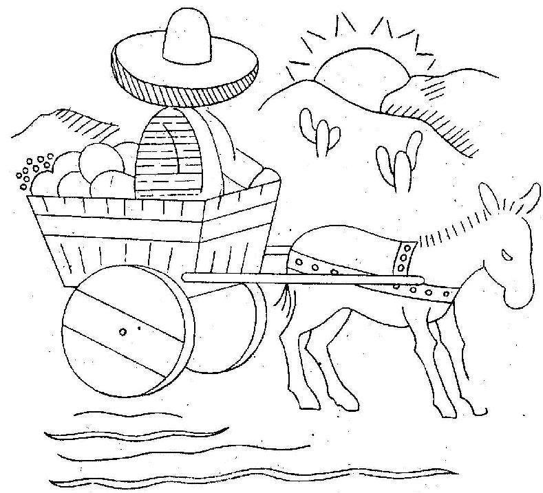 5 De Mayo Batalla De Puebla Dibujo Para Colorear - Free ...