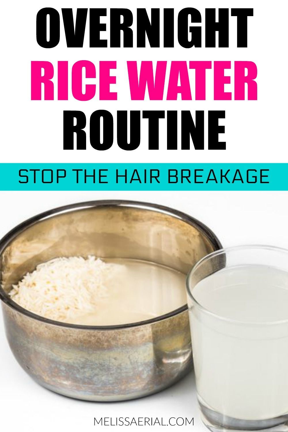 How To Properly Use Fermented Rice Water For Natural Hair Growth Hair Growth Foods Thick Hair Growth Hair Growth