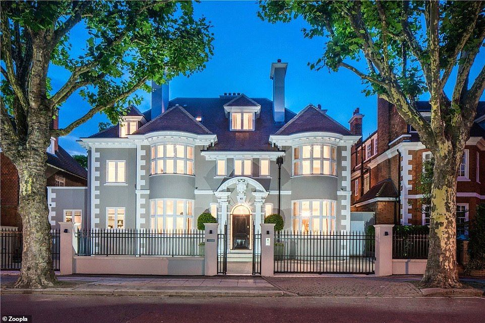 London's expensive homes for sale including one near