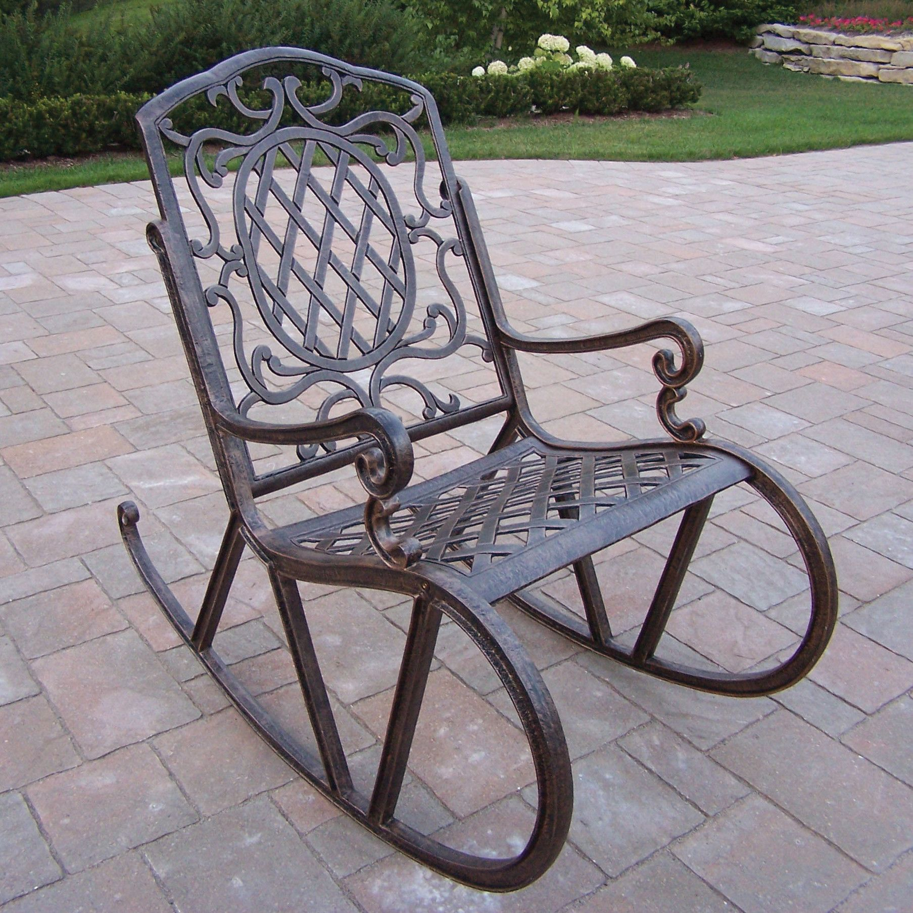 Mississippi Rocking Chair Outdoor Chairs Wrought Iron Furniture Sets