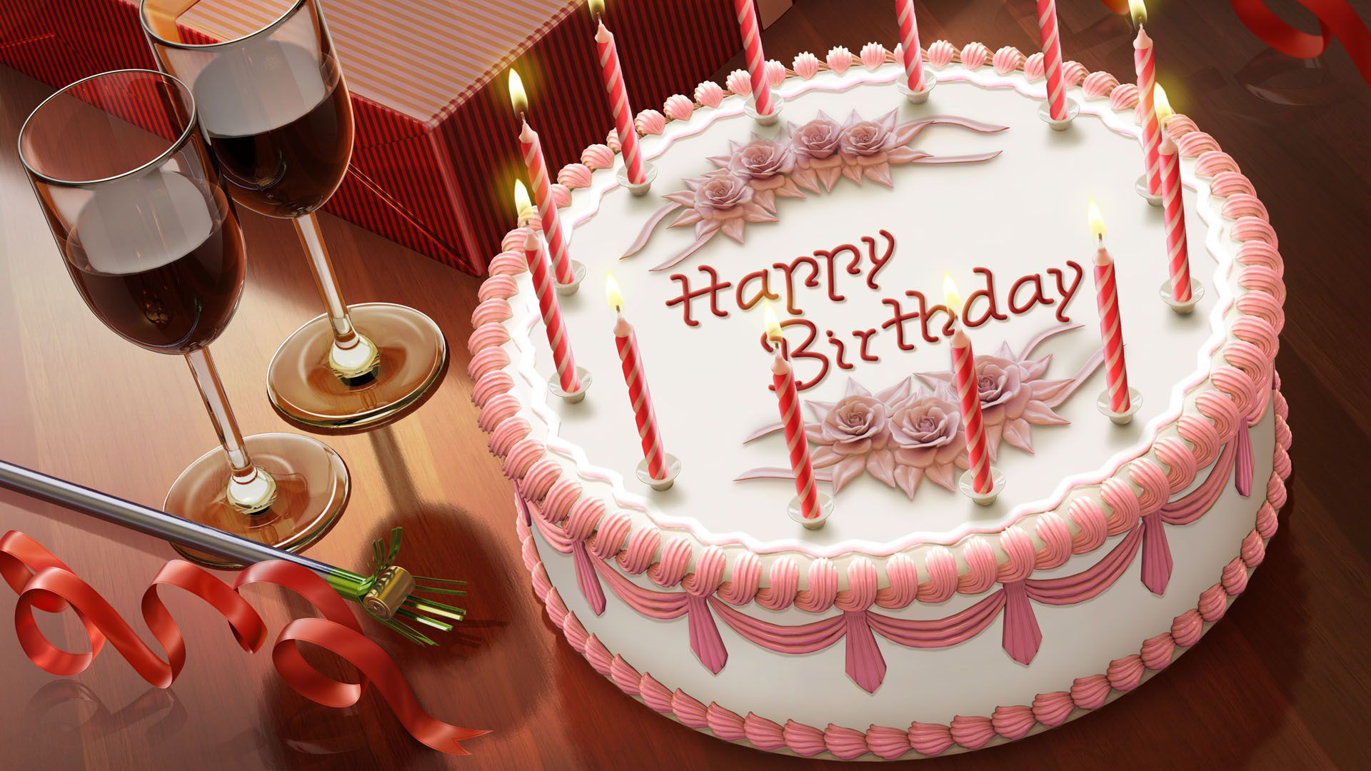 Happy Birthday Wallpapers Hd Free Download Hd New Wallpapers Free Birthday Wishes Cake Happy Birthday Cake Images Happy Birthday Cake Pictures