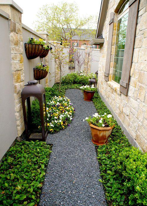 French Courtyard Gardens - Lanson B. Jones | Small ... on Courtyard Ideas On A Budget id=13245
