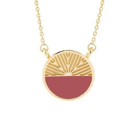 bab9a39d1e The Lex Colorblock Necklace is a modern piece inspired by the iconic  architecture of New York