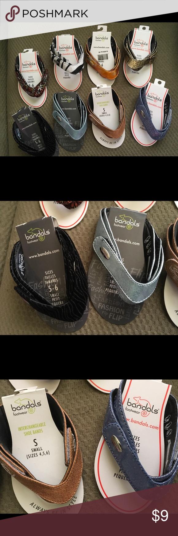"""0adcf0d4df5 Lot 8 Bandals Footwear Flip Flop Sandal Straps """"NEW"""" Lot 8 Bandals Footwear  Flip Flop Sandal Straps Bandals Shoes Sandals"""