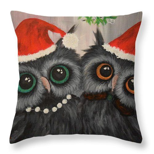 Together For Christmas Throw Pillow for Sale by Andreea ...