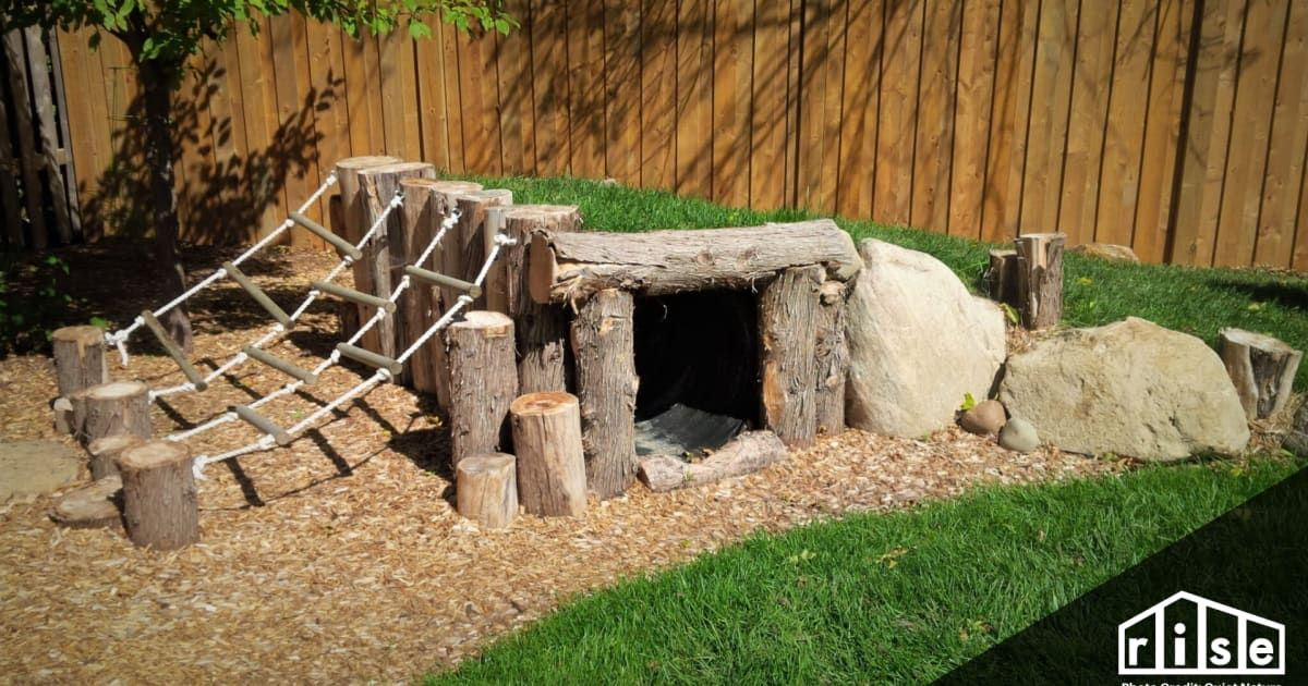 How To Create a Natural Playground at Home