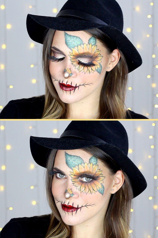 GLAM HALLOWEEN SCARECROW/VOGELSCHEUCHE Makeup Tutorial