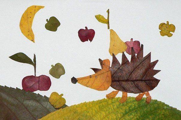 АПЛІКАЦІЇ | Осеннее искусство, Осенние листья, Искусство ...