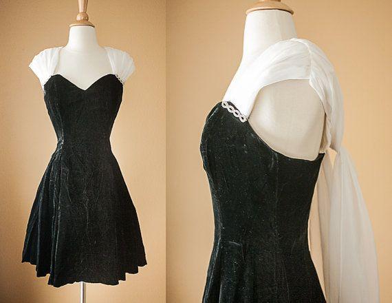 Vintage 90s Prom Dress