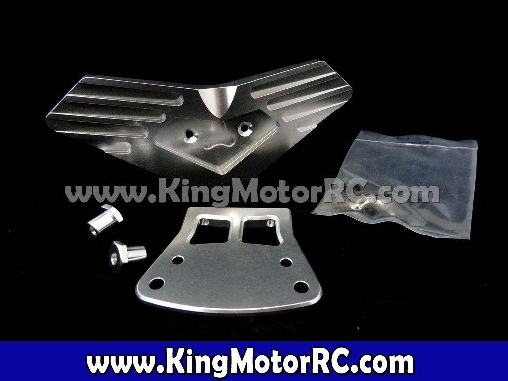 CNC Aluminum Front Bumper (silver)