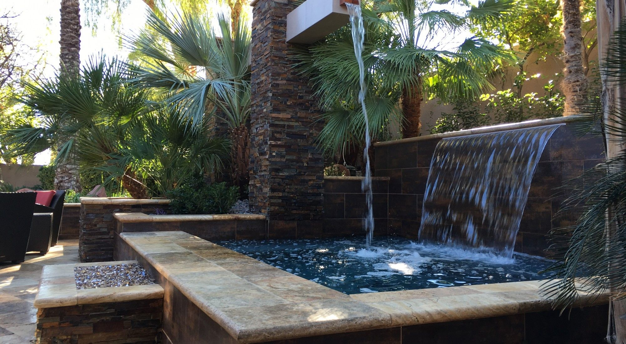 Water Features las vegas design company: Green Planet in ...