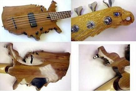10 Strange Guitars That Make You Want To Be A Rock Star