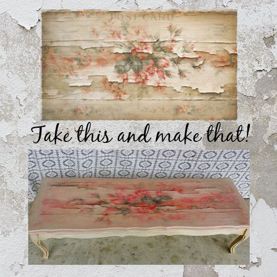Printable Art Distressed Cottage Instant by HAUTEGRAPHIQUE on Etsy, $5.00