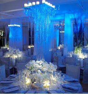 Ya estoy de novia!: Recepción de matrimonio color azul!