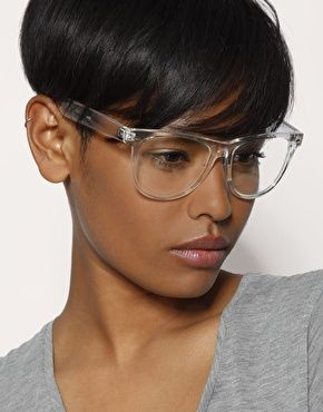 clear frame glasses asos
