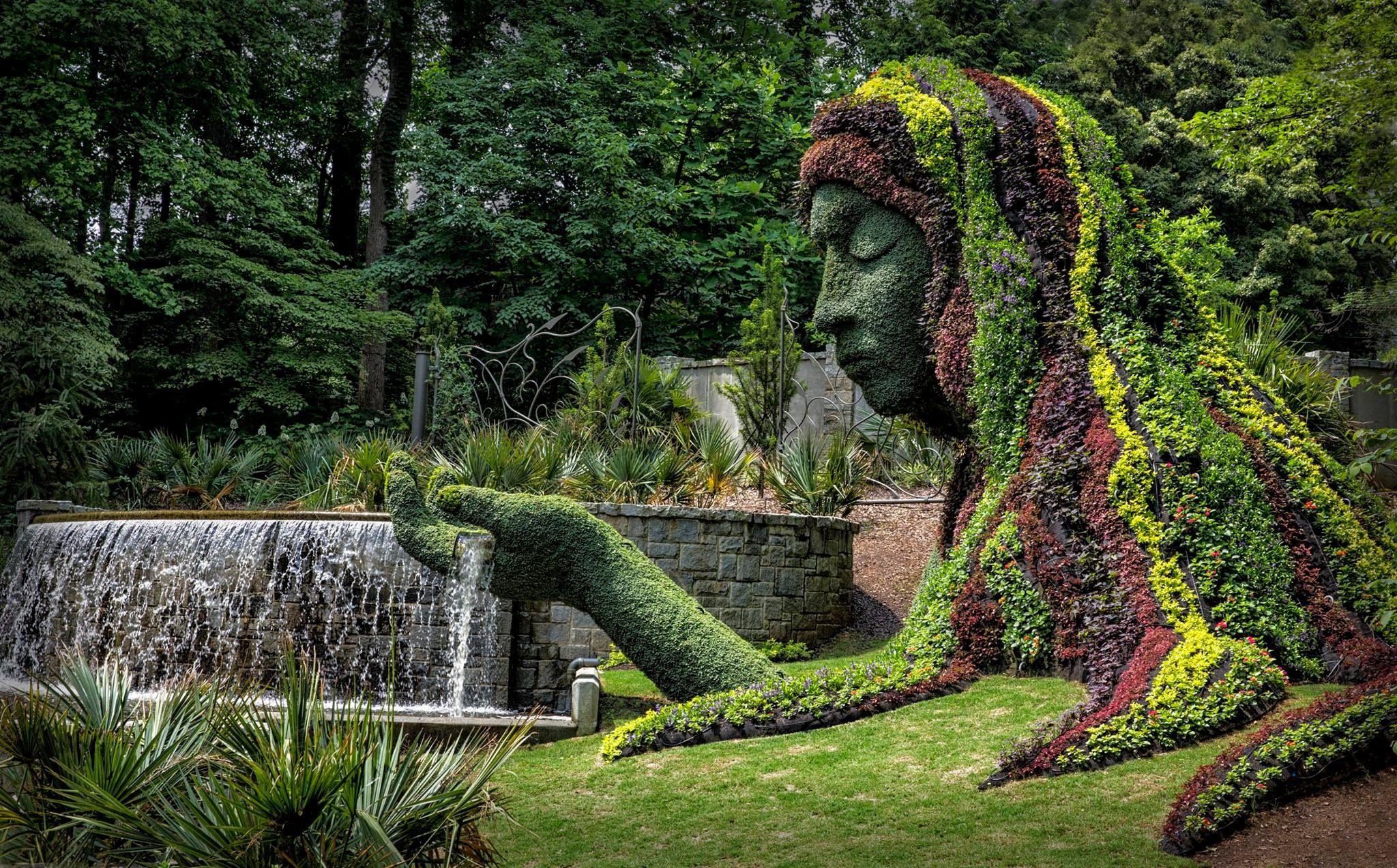 Atlanta Botanical Gardens, Georgia.  Penny
