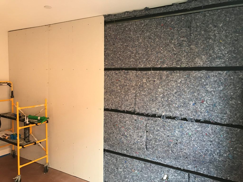 Isotrax Soundproofing System Sound Proofing Frames On Wall Wall Railing