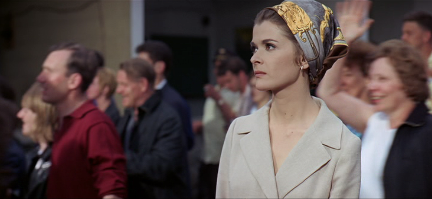 Recognize this lovey lady? It's none other than Lucile Booth. Grand Prix (1966)