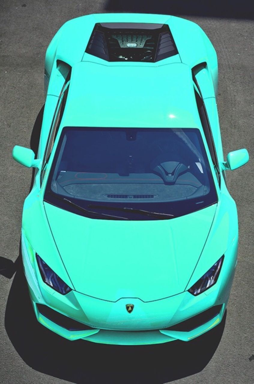 Turquoise Car Novedades L 252 Ks Arabalar Egzotik