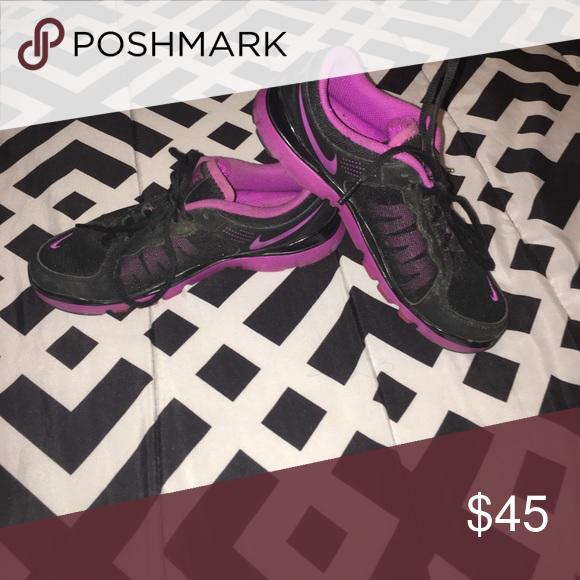 Nike flex TR2 Purple and black Nike tennis shoes Nike Shoes Athletic Shoes