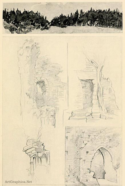 Drawing Ruins Drawing Trees Beginner Guide To Art And