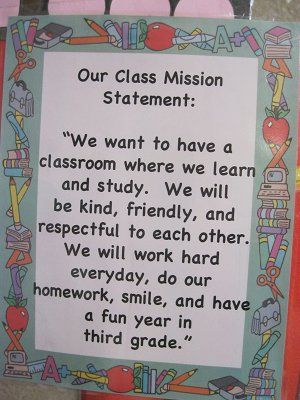 class mission statement third grade - Google Search u2026 Pinteresu2026 - new 7 examples of mission statement