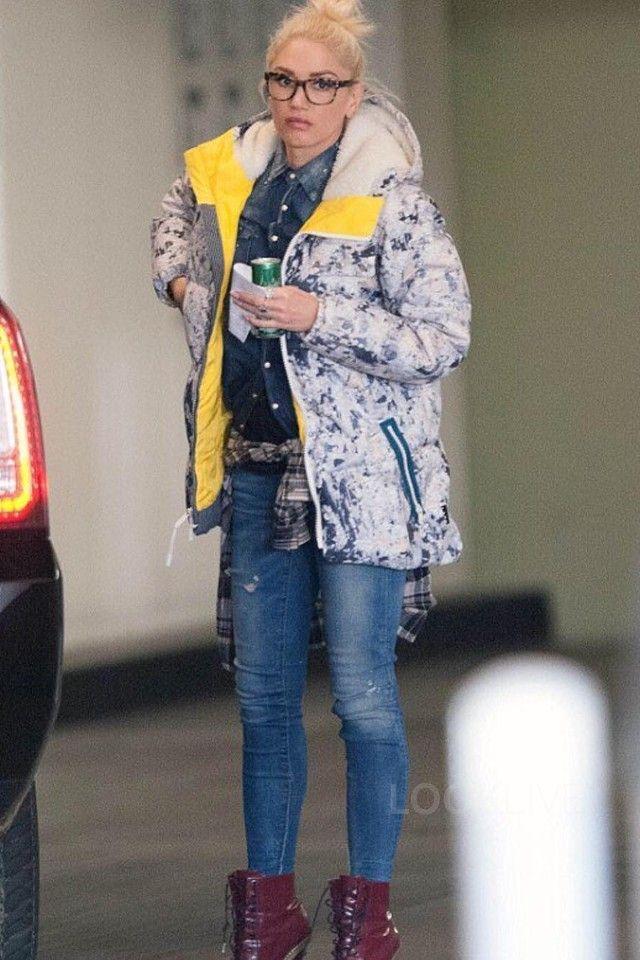 28a51e0f4d4cb Gwen Stefani wearing Burton x L.A.M.B. Bolan Down Jacket