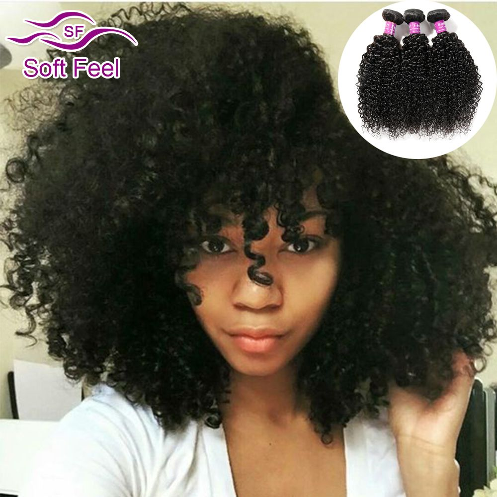 Malaysian Kinky Curly Hair Weave 3 Bundles Malaysian Virgin Curly