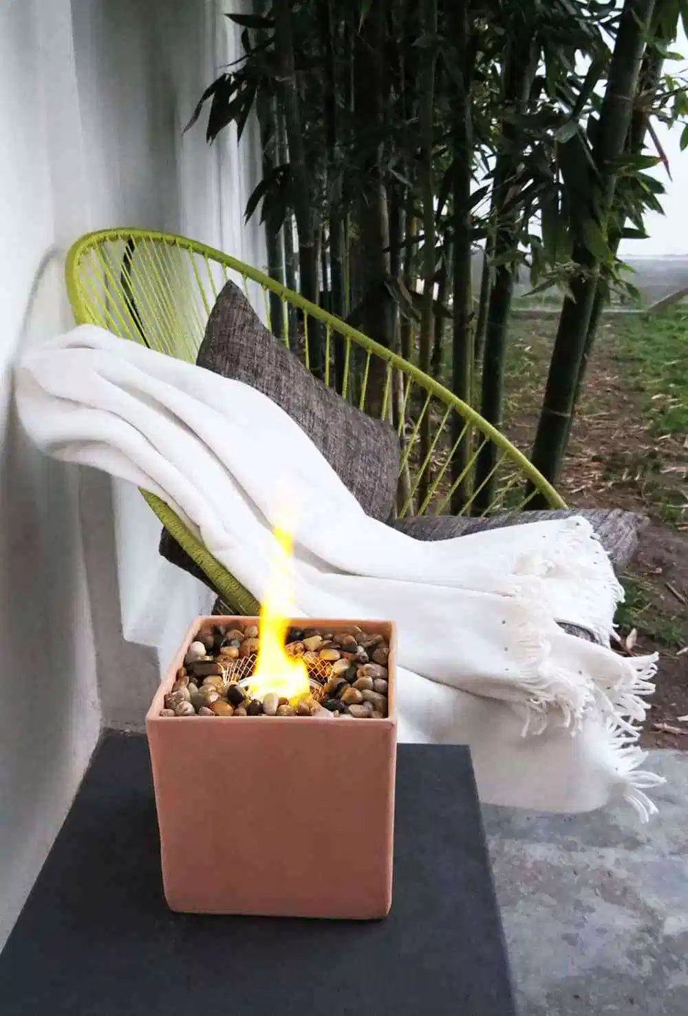 Photo of The easy way to make a table fire pit – Ohoh deco