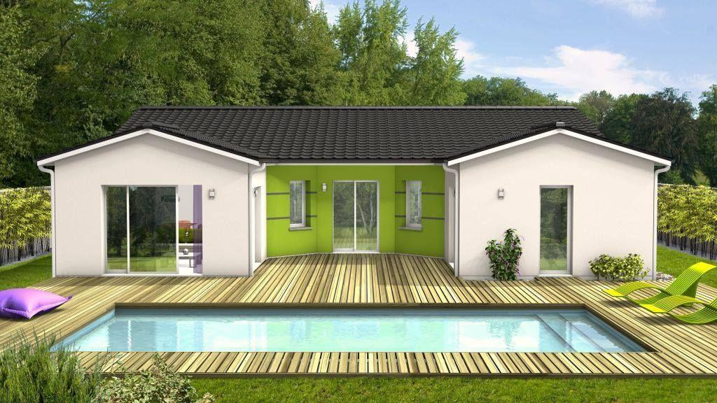 Epingle Par Maisons Clairlande Sur Modeles De Maisons Maison Plan Maison Maison Contemporaine