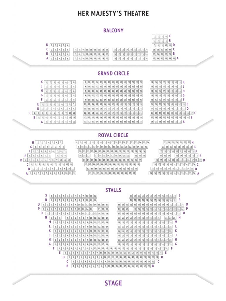 her majesty s theatre london seating plan how to plan