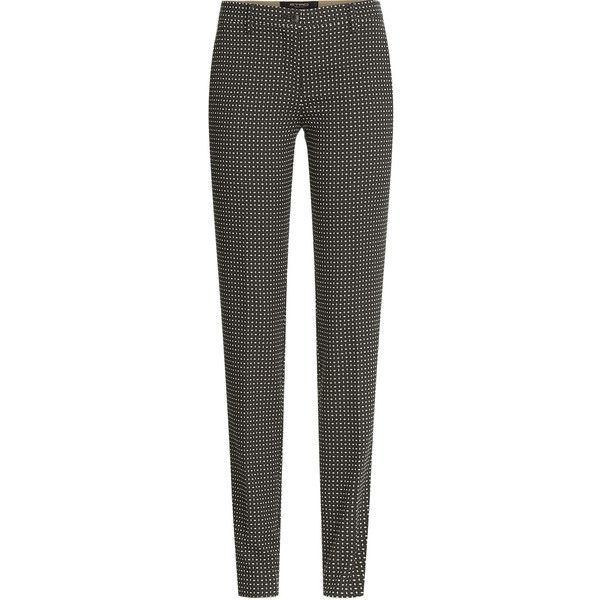 Cotton trousers white patterned Etro AYRqyMAy9