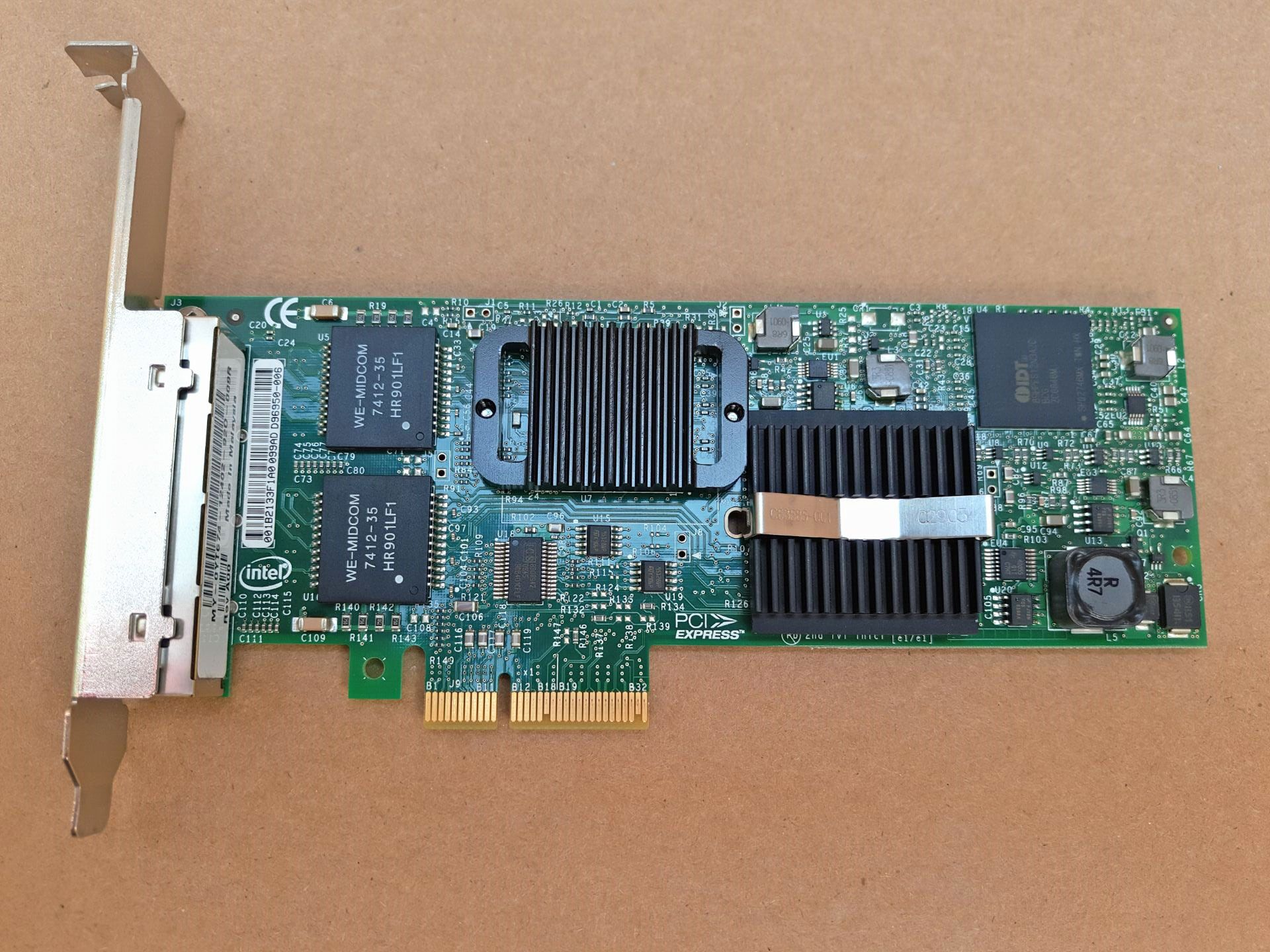 Details about DELL Intel PRO/1000 ET Quad Port PCI-e Server