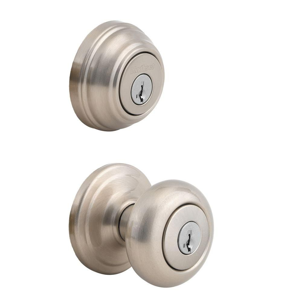 Master Lock BACCON0615 NightWatch Ball Style Knob Entry Door Lock with Combo Pck