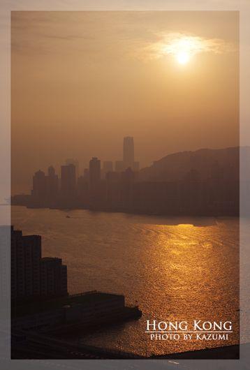 『香港島の日の出♪』Hong Kong