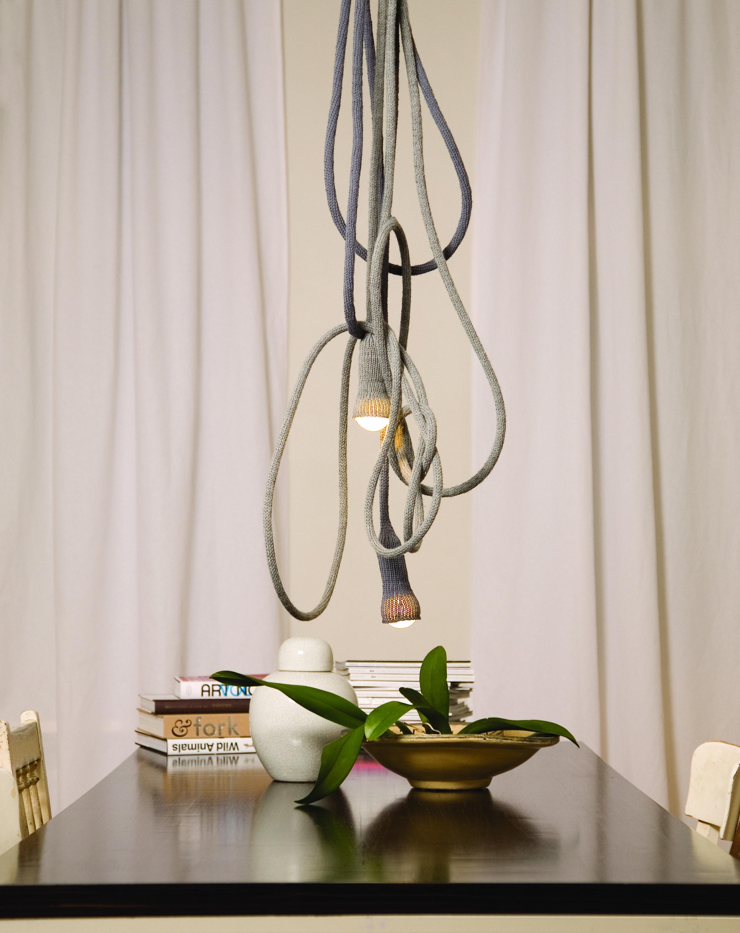 MATT Installation above the dinner table. interior