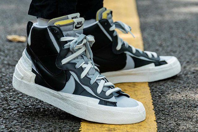 Nike Blazer Mid Sacai Black Grey | Zapatillas outlet de nike