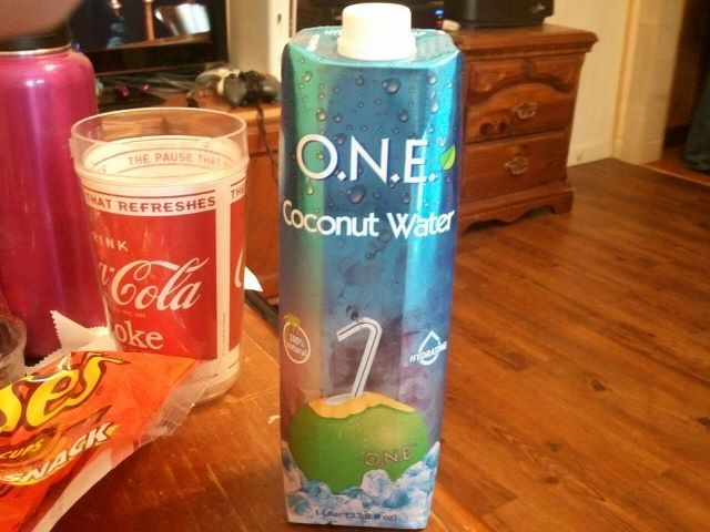 Best stuff in the world! you need something sweet without a ton of cals. this is what I am talking about. Coconut Water is 45 cals for an 8oz glass. This big one has 4 servings and cost only 4.48 at walmart (may very) I have kicked soda to the curb and have grab the best new drink. I mean if you want to go healthy and cut out the sugar you have to find better things for you and this has no Aspartame or Sugar at all!! and if you want it extra sweet they come in Fruit Punch, Mango and…