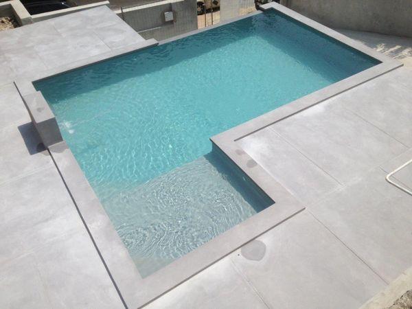 Piscine rectangulaire en béton Marinal piscines Pool Pinterest