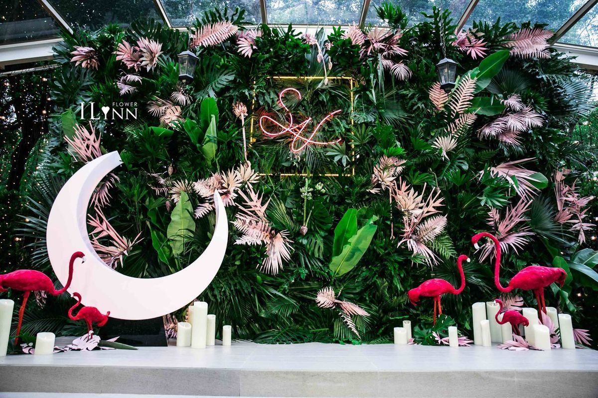 Wedding decorations stage backdrops october 2018 Pin by LEVU on Hoa cưới in   Pinterest  Wedding Backdrops and